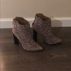 Leopard booties from the pink lily boutique